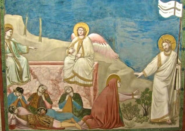 Giotto Resurrezione Cappella degli Scrovegni Padova